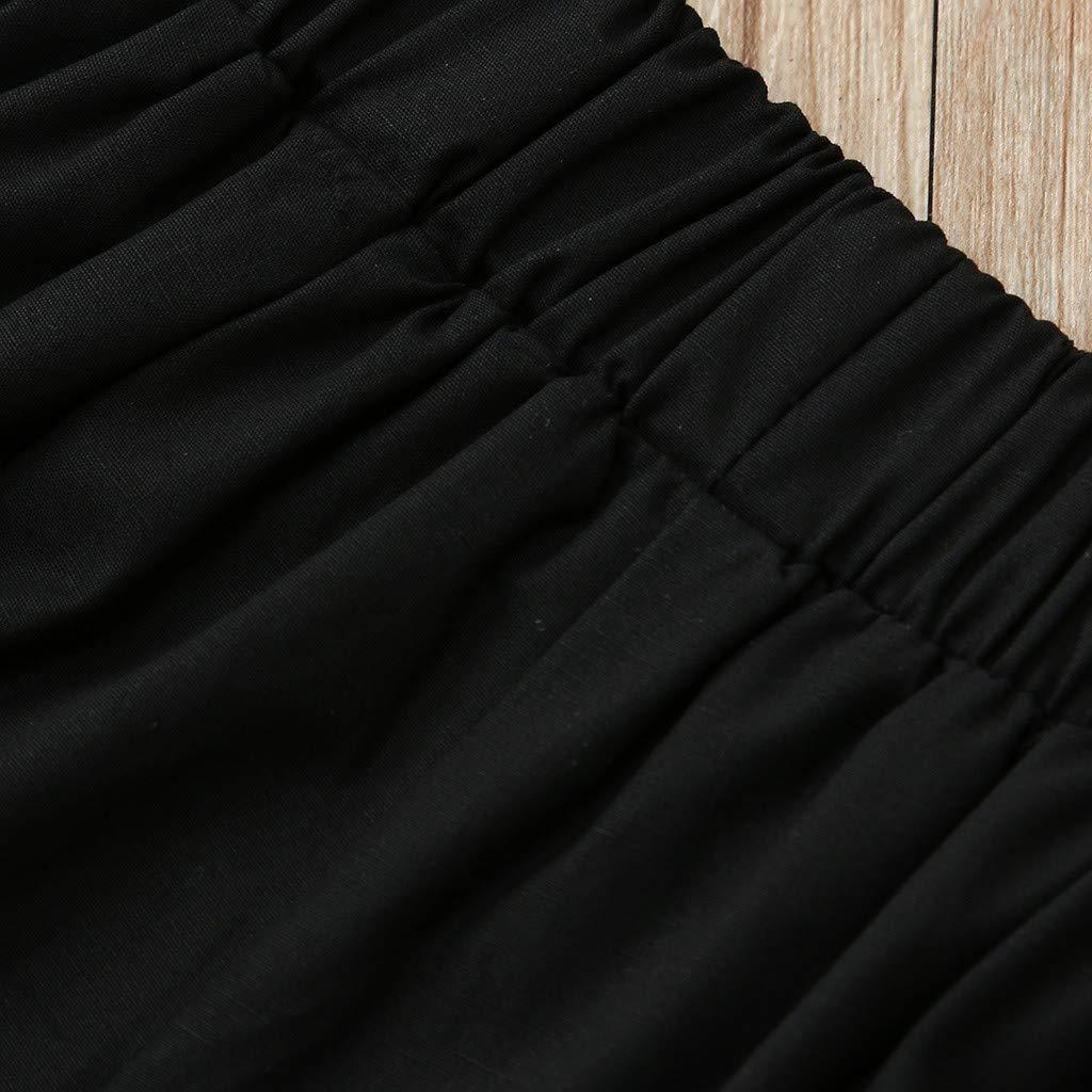 Pantaloncini,70-110 TT-kid Abbigliamento Estivo Bambina Completi Bambino Estivo,TTMall 0-3 Anni Top Senza Maniche A Tridimensionale Ricamato con Ricamo di Fiori per Bambini
