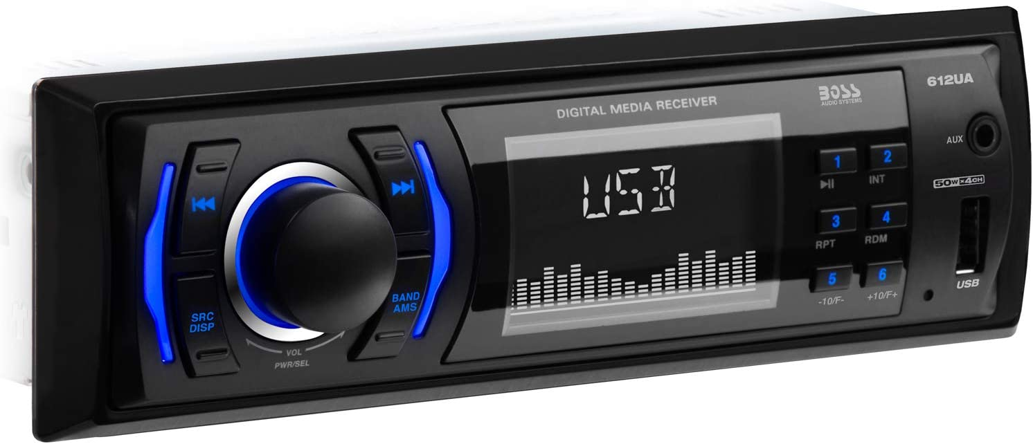 BOSS Audio 612UA Multimedia Car Stereo