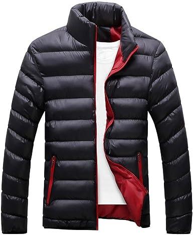 Men's Winter Warm Slim Fit Bubble Coat Casual Jacket Parka Outerwear Sport Coat