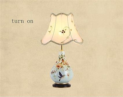 Comò Camera Da Letto Dimensioni : Lampada da tavolo retro modern chinese vasi in ceramica giardino
