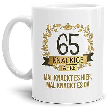 Tassendruck Geburtstags Tasse Knackige 65 Geburtstags Geschenk Zum