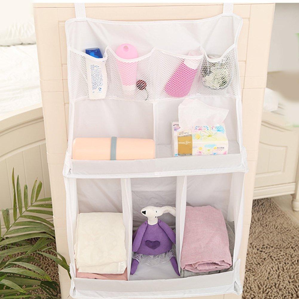 Windelwechsel Organizer, Baby Windel Kinderzimmer Baby Bettwäsche zum Aufhängen Tasche Xpccj