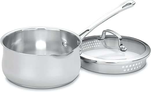 Amazon.com: Cuisinart 419-14 - Contorno de acero inoxidable ...