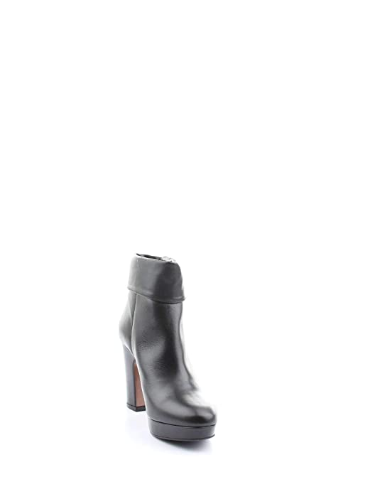 Albano Mujer 8152NERO Negro Cuero Botines: Amazon.es: Zapatos y complementos