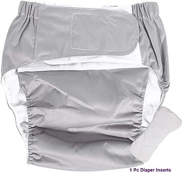 Amazon.com: Cubierta para pañales para adultos, reutilizable ...