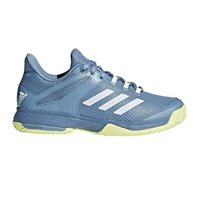 aeecab3e76859c adidas Unisex Kids  Adizero Club Tennis Shoes  Amazon.co.uk  Shoes ...