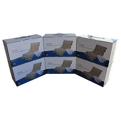 Pack de 6 Colchones antiescaras de aire con compresor | Modelo SY300 |