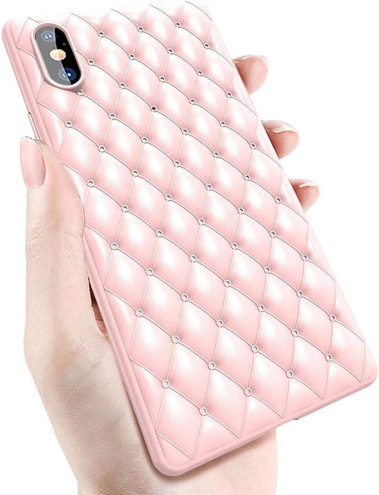 ZYLEG Estuche para iPhone XR, Estuche Compatible Apple iPhone XR (2018) / iPhone XS MAX (2018) / iPhone X/XS [para niñas] Protección de TPU para Cojines Pink iPhone XS MAX: Amazon.es: Electrónica