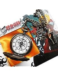 Anime Fullmetal Alchemist Edward Elric's Gift Birthday Pocket Watch Cosplay