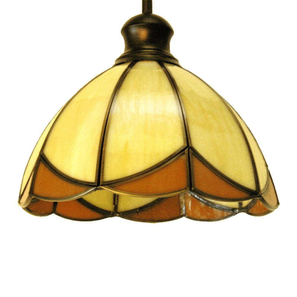 eTopLighting Las Elite Collection One Light Tiffany Hanging Pendant Kitchen Island Indoor Decor Light Fixture APL1234