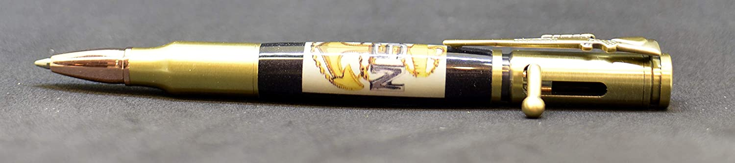 US Navy Chief Petty Officer Insignia Bolt Action Pen 1066//1101//1223//24//92