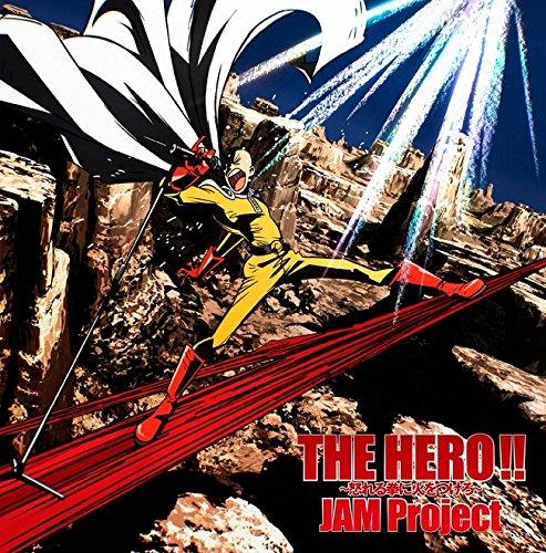 Jam-Project-One-Punch-Man-Anime-Intro-Main-Theme-Song-The-Hero-Ikareru-Kobushi-Ni-Hi-Wo-Tsukero-Anime-Edition-Japan-CD-LACM-14406