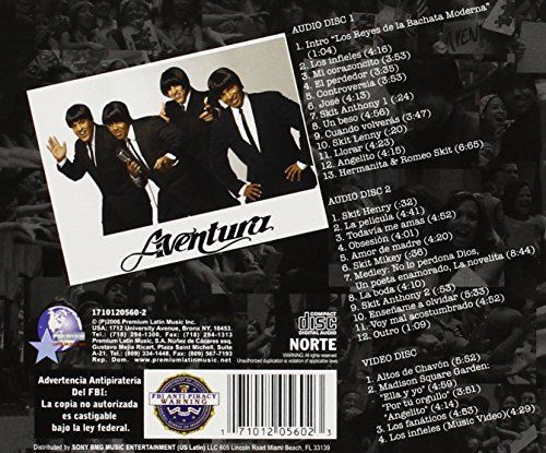 disco k.o.b.live de aventura gratis