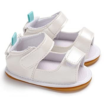 54db8d83e857d Amazon.com: AutumnFall Baby Shoes Soft Sole Sandals for Girls Babies ...