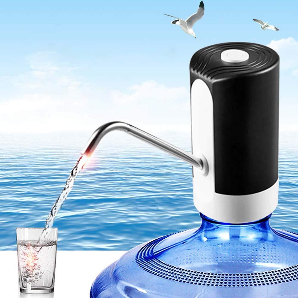 L-DiscountStore Bomba de Agua Potable dispensador el/éctrico USB Carga embotellado dispensador port/átil bot/ón dispensador