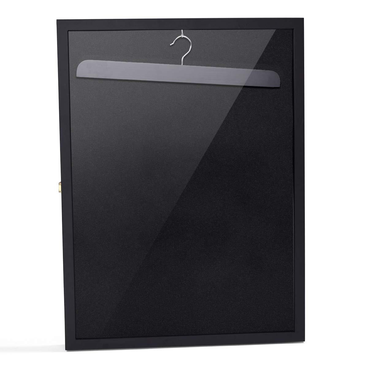 betterhomechoice Black Sports Jersey Frame Box Wall Display/Case Rack Frame Locable (Black) by betterhomechoice (Image #2)