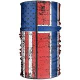 Jxrodekz Island-Flagge Unisexsport-Schal-Stirnb/änder Bandana Outdoor-Schwei/ßband Headwear