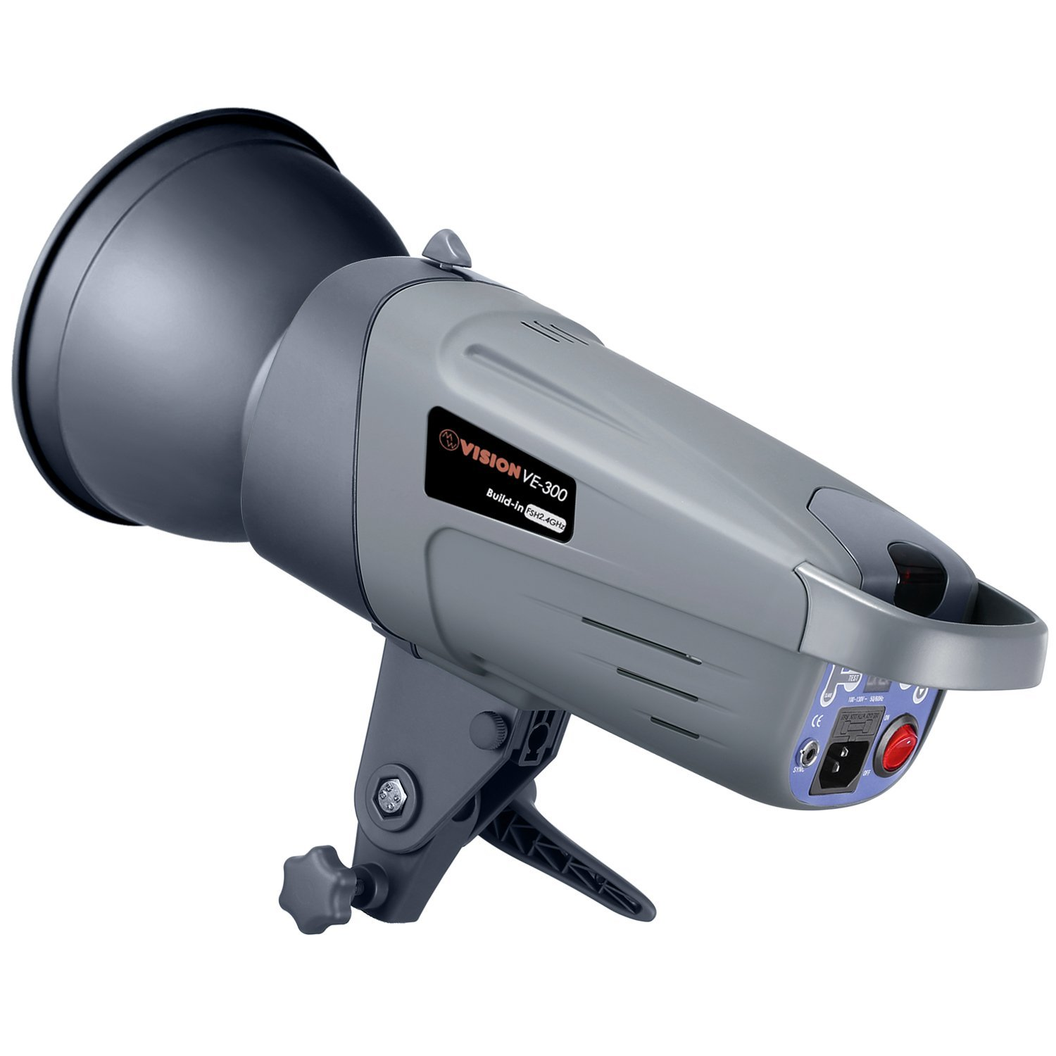 Neewer 300W GN60 Studio Flash Strobe with Built-in 2.4G Wireless Receiver System, Recycle time 0.3-1.5 Seconds, Bowens Mount, VE-300 Plus, German Engineered