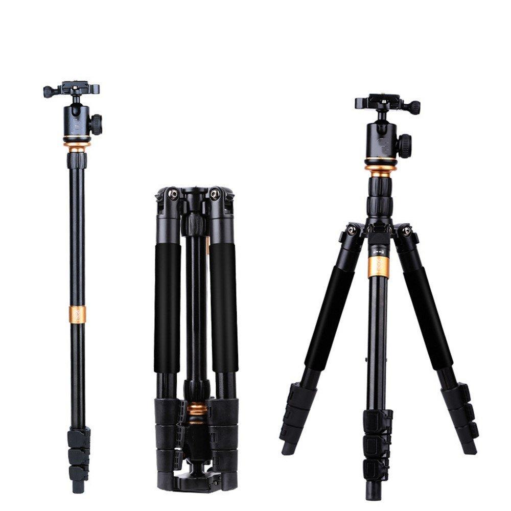 Portable Aluminum SLR Camera Tripod, Removable Monopod, Multifunctional Travel Photography/Camera Tripod by ZQ