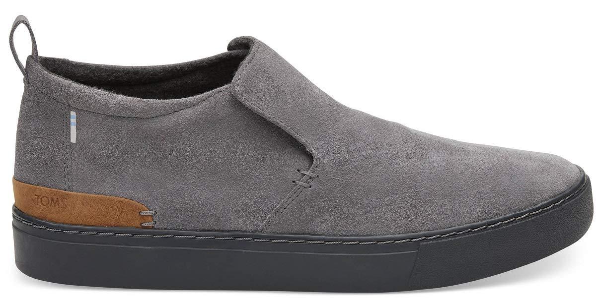 190f0d2fc4a2de Galleon - TOMS Men's Paxton Shoe Shade Suede Water Resistant Size 13