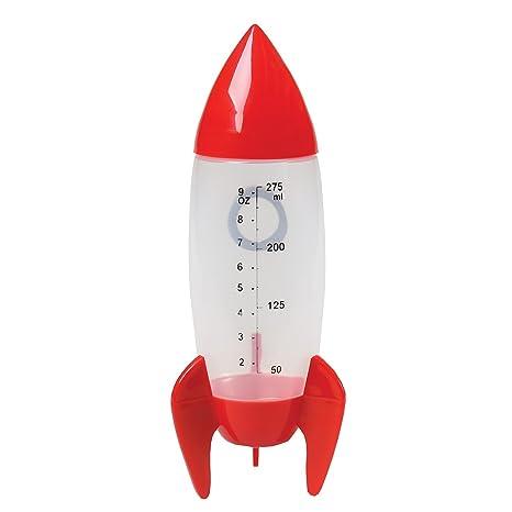 Cohete Baby Botella/Rocket Baby Bottle Capacidad 275 ml, estampado