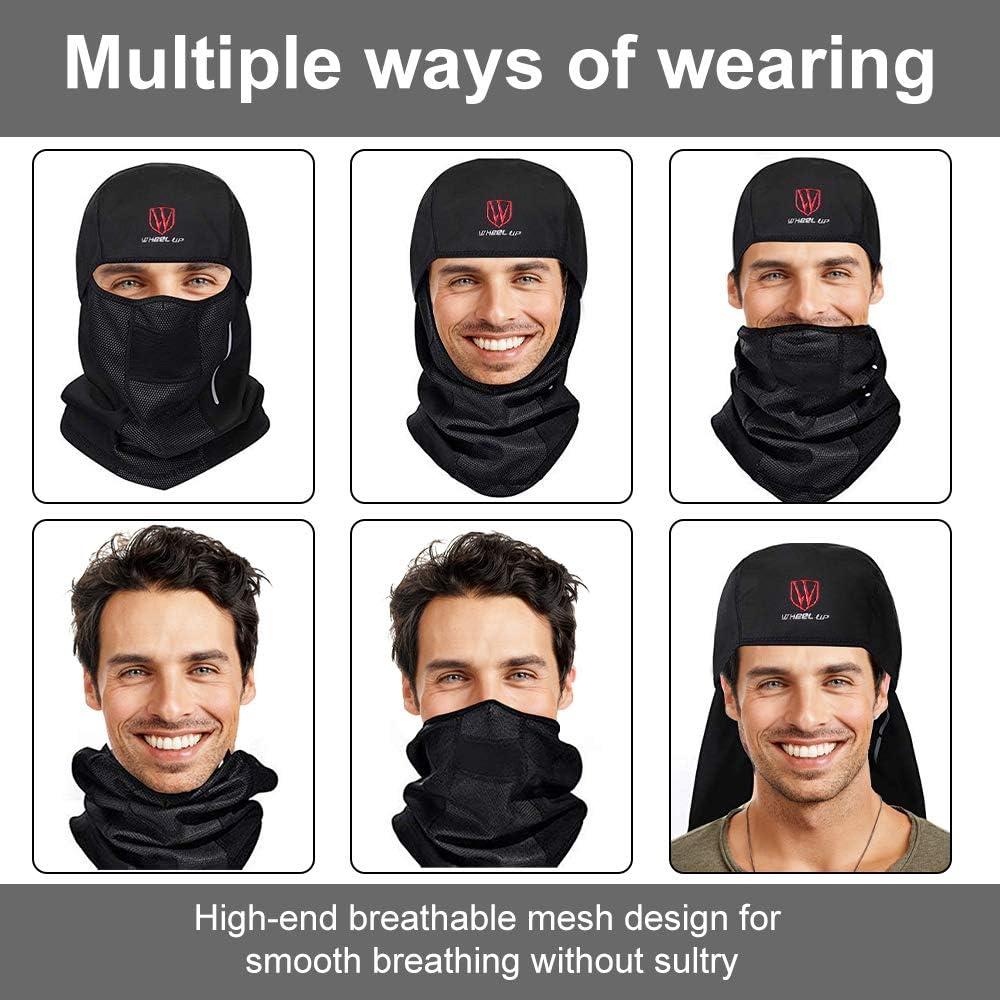 Fit Helmets for Skiing Motorcycle Cycling Sylanda Breathable Mesh Multipurpose Windproof Motorcycle Cycling Tactical Balaclava Hood Neck Warmer Balaclava Face Mask