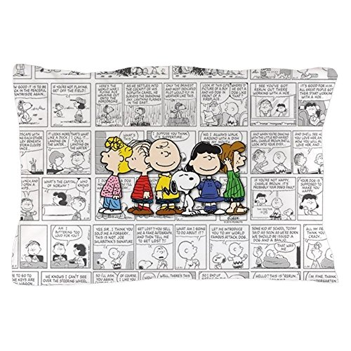 CafePress The Peanuts Gang Standard Size Pillow Case, 20