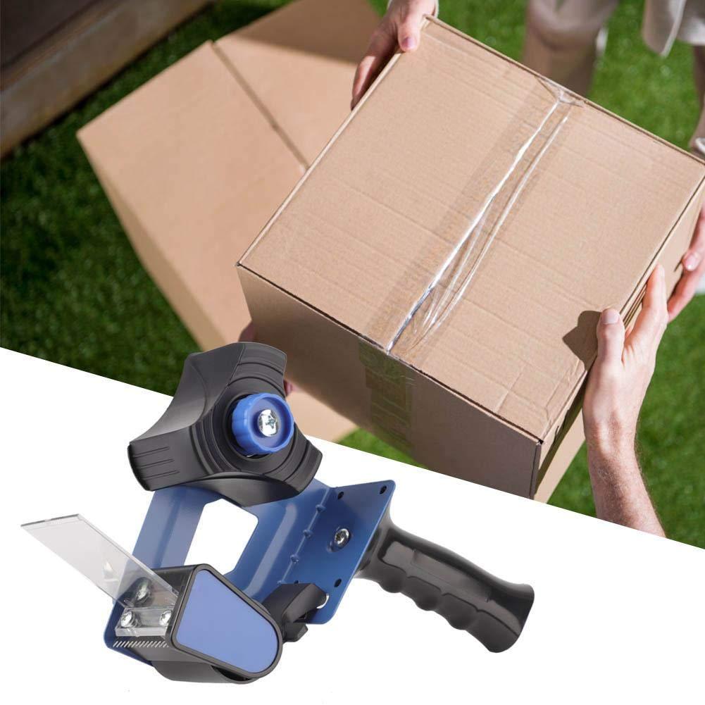 KEYREN Le Distributeur Mobile de Bande de scellement de Carton de cachetage de Carton de bo/îte de coupeur de Ruban adh/ésif Emballe