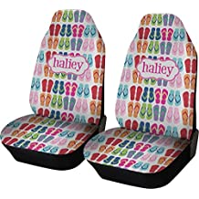 RNK Shops FlipFlop Car Seat Covers (Set of Two) (Personalized)