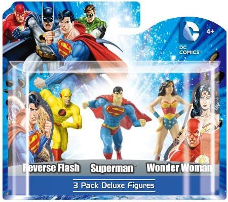 Monogram - DC Universe, Pack C de 3 Figuras: Reverse Flash ...