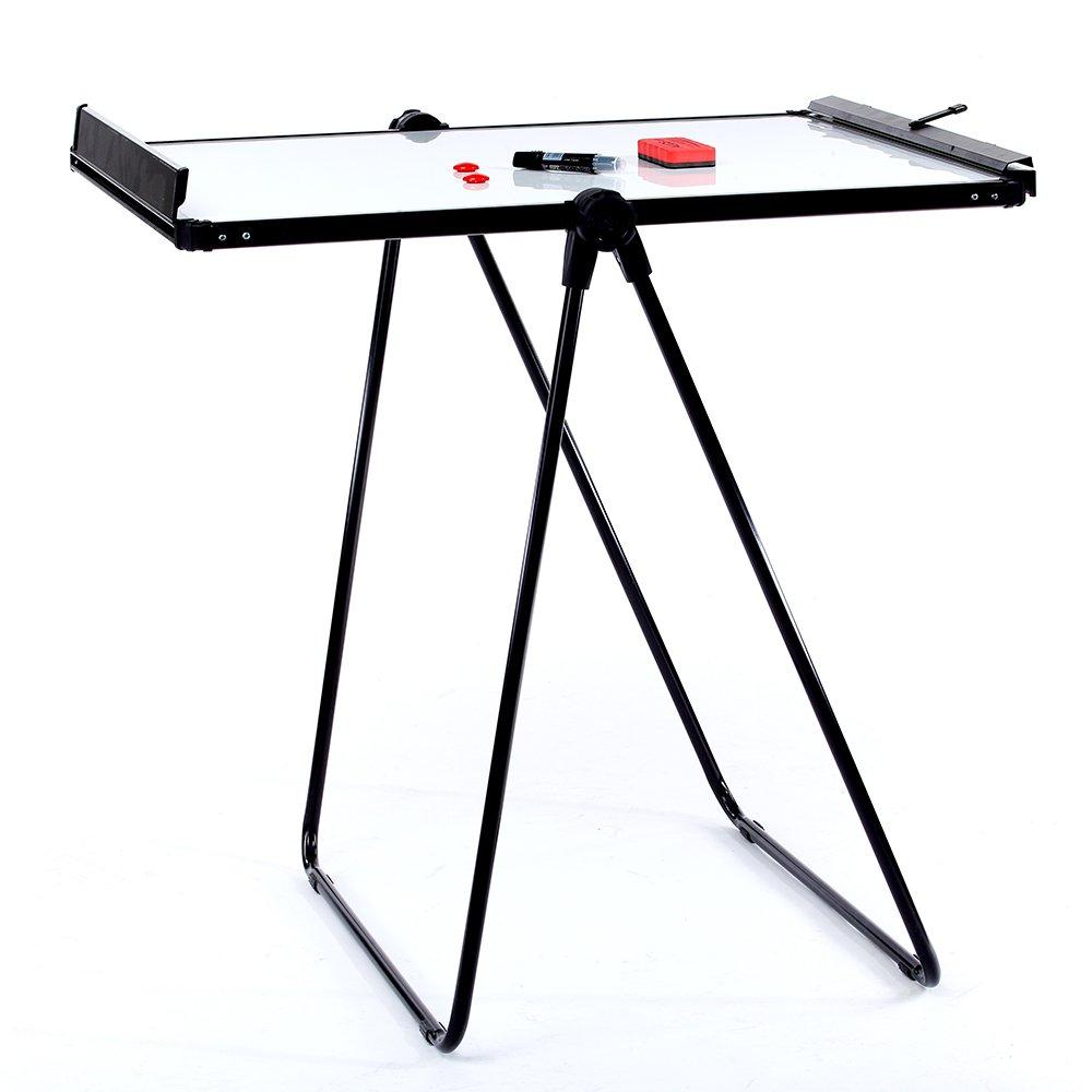 Case of 10, VIZ-PRO ECO Magnetic U-Stand Whiteboard/Flipchart Easel, 28'' X 36'', Black by VIZ-PRO (Image #2)