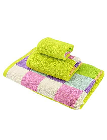 Toalla de algodón Simple Absorbente Grandes Toallas Suaves algodón ...