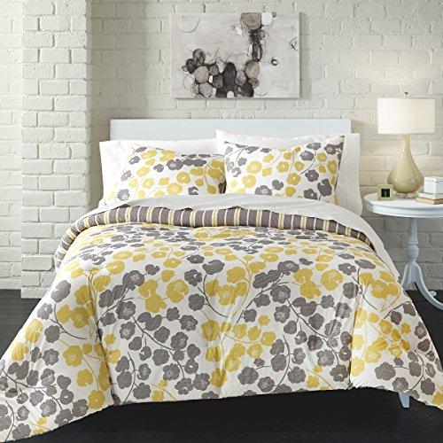 Seneca Ultra Soft 100% Cotton Comforter Set, Yellow