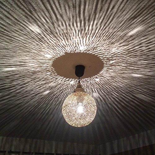 Marrakesch lámpara bombilla lámpara marroquí Árabe techo ...