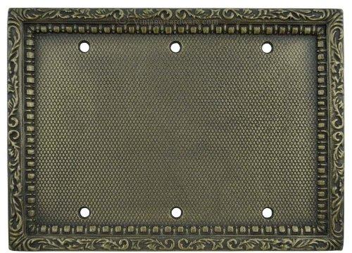 即納!最大半額! Victorian Victorian Recreated B00DC6GLXY Triple Gang空白スイッチプレートカバー( Recreated l-dkw18 ) B00DC6GLXY, 水沢市:191b1420 --- svecha37.ru
