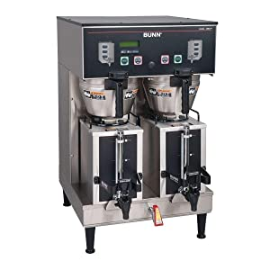 Bunn 35900.0010 BrewWISE Dual GPR DBC Coffee Brewer w/ 1.5 Gal. Servers