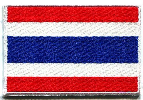 Flag of Thailand Thai Bangkok Siam Siamese embroidered applique iron-on patch new