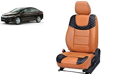 Honda City Pu Leather Car Seat Cover Pu0025 Amazon In Car Motorbike