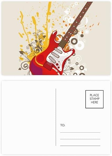 DIYthinker Guitarra eléctrica de la música de jazz Cultura postal ...