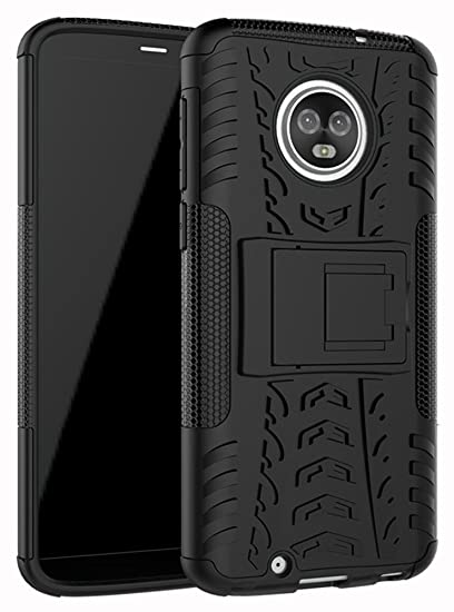 official photos 26a6f 77d63 Moto G6 Case,Yiakeng Dual Layer Wallet Accessories Bumper Hard Protective  Flip Waterproof Phone Cases Cover With A Kickstand For Motorola Moto G (6th  ...