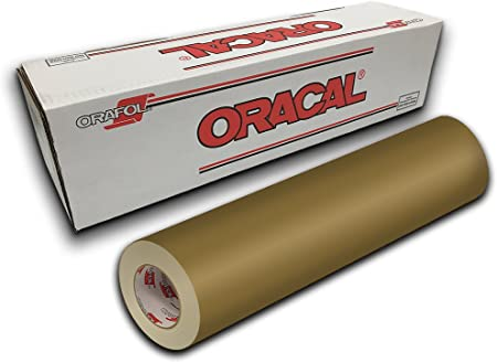 Amazon Com Oracal 651 12 X 10yd Gold Metallic 091 Arts Crafts Sewing