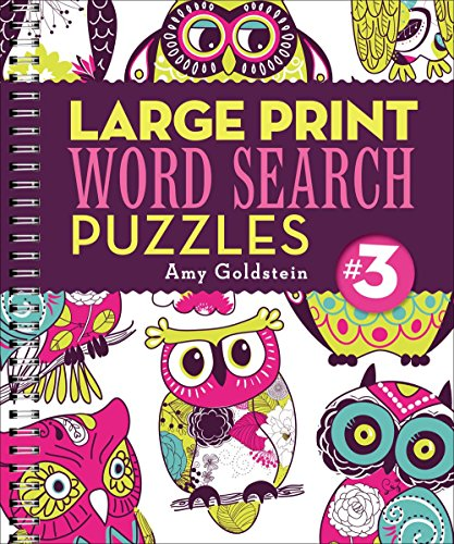 - Large Print Word Search Puzzles 3