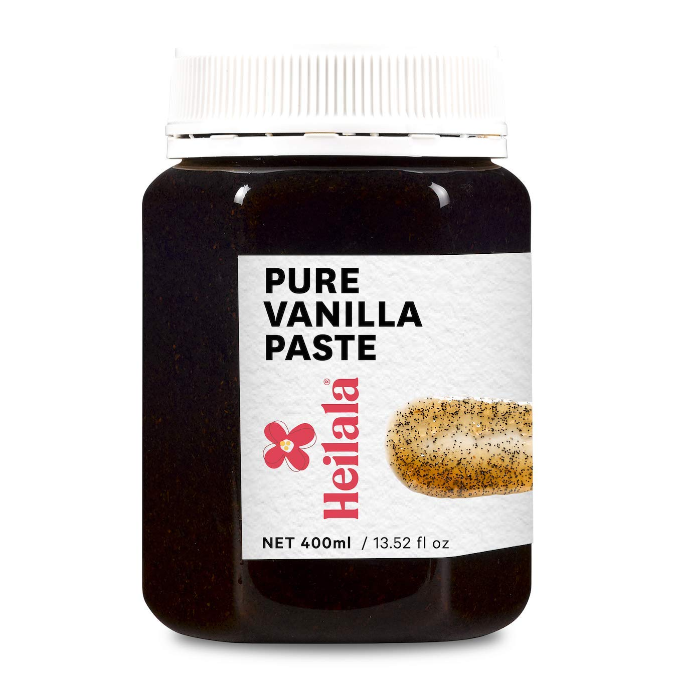 Vanilla Bean Paste for Baking – Heilala Vanilla, Choice of the Worlds Best Chefs & Bakers, Using Sustainable, Ethically Sourced Vanilla, Hand-Picked from Polynesia, 13.52 oz