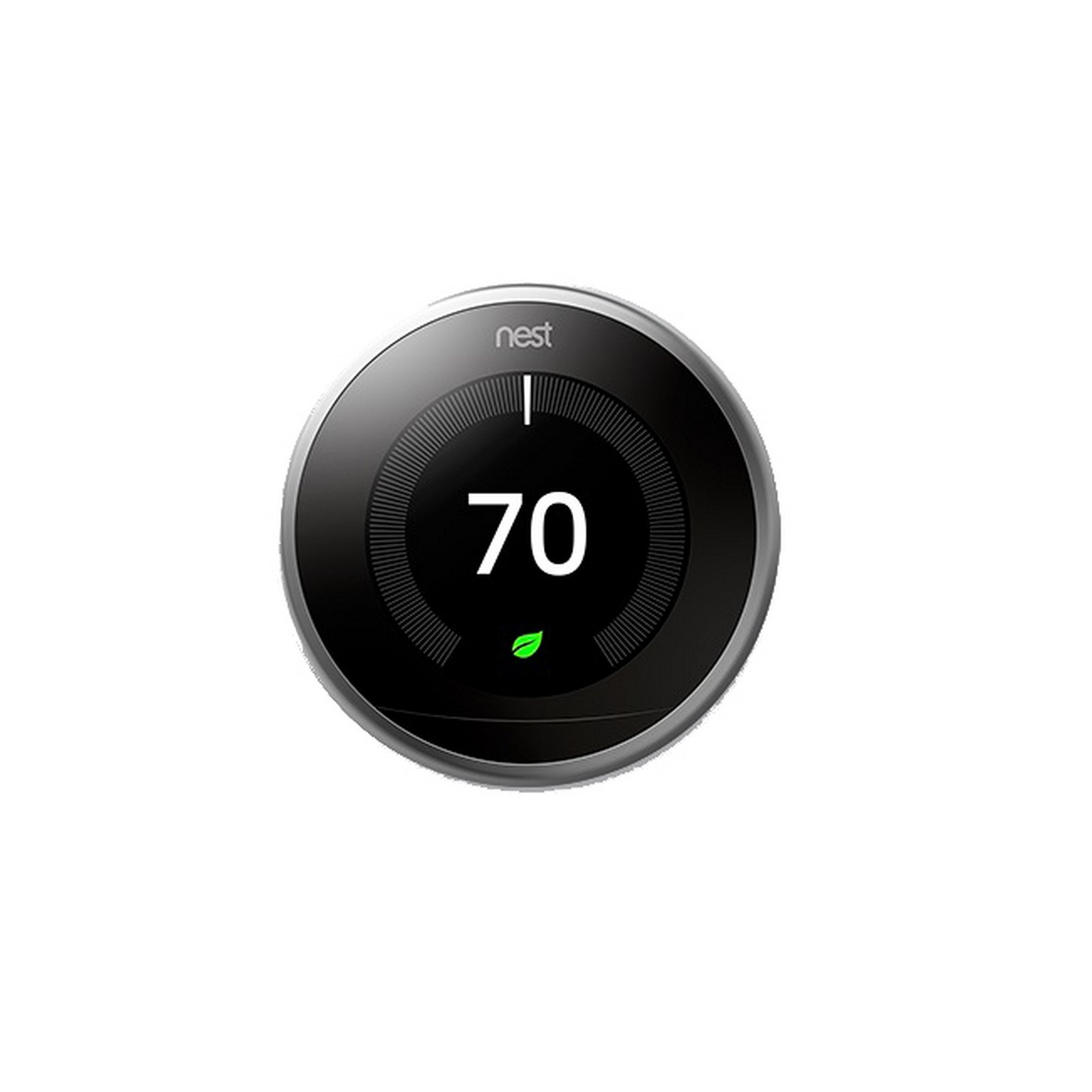 Nest Learning Thermostat | 3rd Generation WiFi Bluetooth Smart Thermostat Silver by Nest Labs