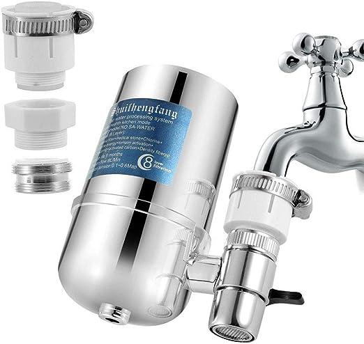 SPWIS - Filtro de agua para grifo, purificador de filtración ...
