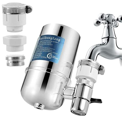Water filter undersink for kitchen faucet