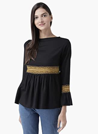 The Vanca Women's Fashion Flared Top
