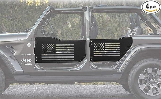 Moker 4-Door Set Off Road Front /& Rear Tubular Doors for 2007-2018 Jeep Wrangler JK