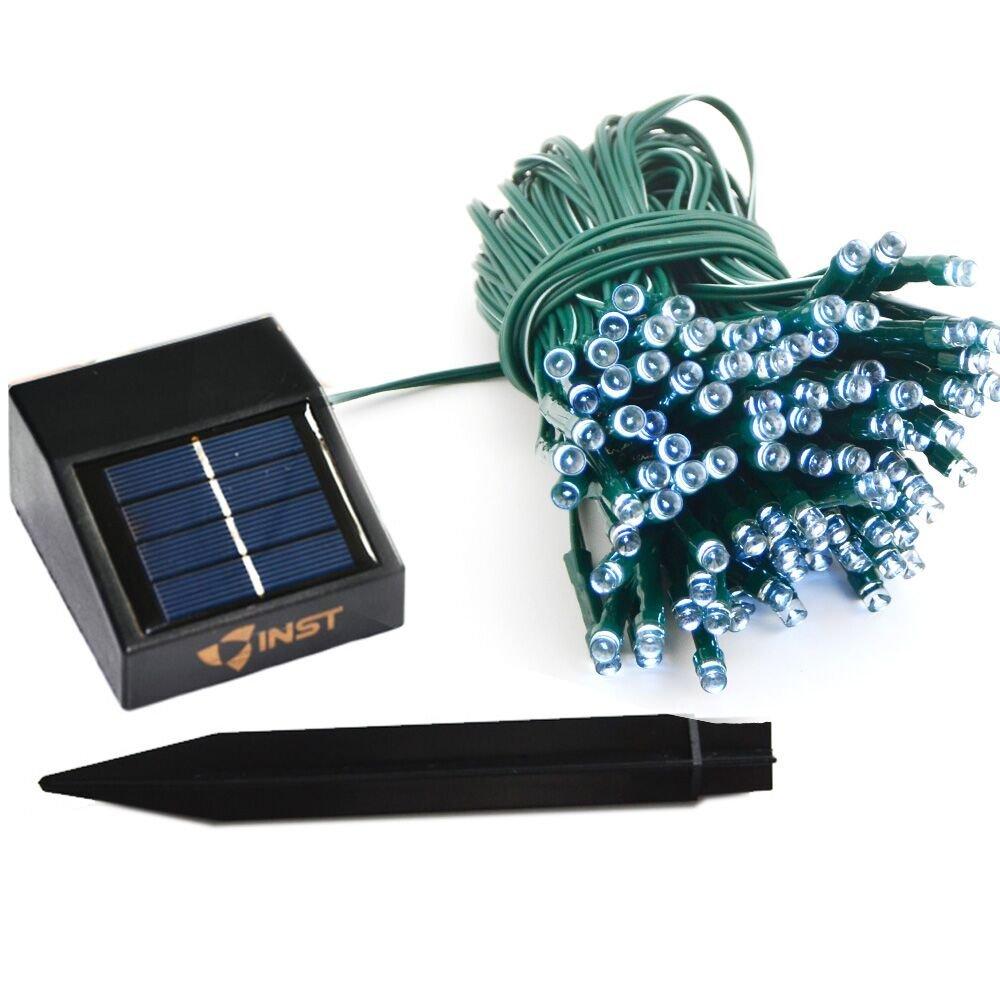 Amazon.com : INST Solar Energy Powered LED String Light, Long ...