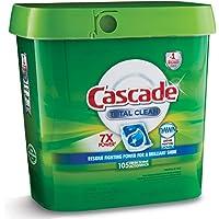 Cascade detergente en Gel para lavaplatos con Aroma Fresco al Amanecer 105 Unidades, Paquetes de acción !